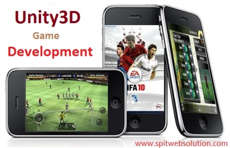 Unity3D Game Development Services at SPITWebsolution